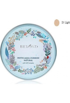 Beyond Phyto Aqua Cushion Natural SPF50+ PA+++ No.01 Light 15 gr.