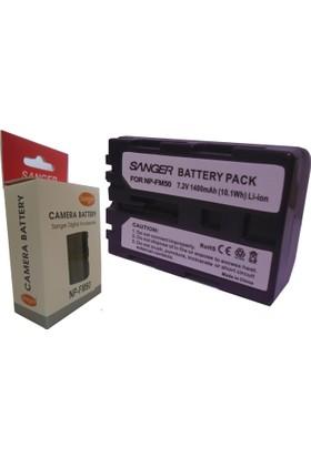 Sanger Np-Fm50 Batarya, Sony Fm50 Kamera Bataryası