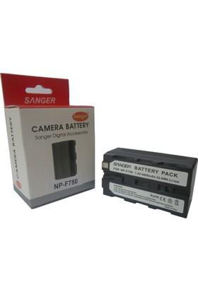 Sanger NP-F570 Kamera Bataryası, F550 Batarya, F570 Batarya, Sony Kamera Bataryası, Kamera Işık Bataryası, 6 Led Işık Bataryası