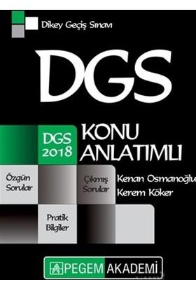 2018 Dgs Konu Anlatımlı - Kenan Osmanoğlu