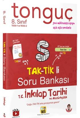 Tonguç Akademi Yayınları TEOG 1-2 8. Sınıf T.C. İnkılap Tarihi Ve Atatürkçülük Taktikli Soru Bankası
