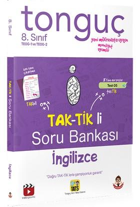 Tonguç Akademi Yayınları İngilizce TEOG Taktikli Soru Bankası