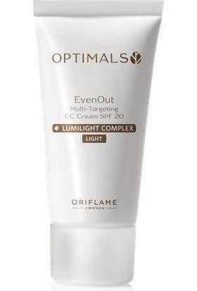 Oriflame Optimals Even Out Çok Amaçlı Cc Krem Spf 20 - Light 30 Ml