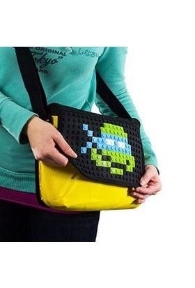 Pixelbags Omuz Çantası-Sarı