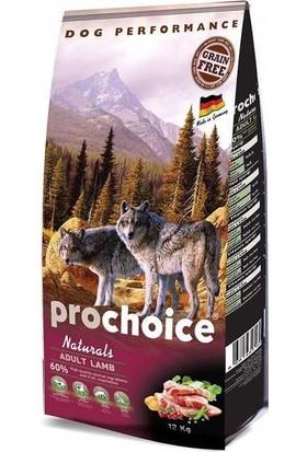 Prochoice Naturals Kuzu Etli Tahılsız Köpek Maması 12 kg
