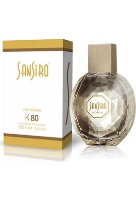 Sansiro K80 Kadın Parfümü 100 Ml.