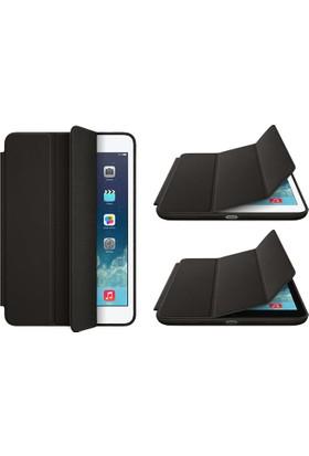 CresCent Apple iPad Pro 10.5 İnch Smart Case İç Ve Dış Yumuşak Yüzeyli Siyah Kılıf