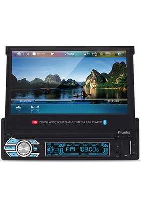 Piranha Titan C Type Fm,Sd,Usb,Bluetooth 7 İnch Ekranlı Oto Teyp