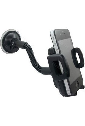 Alfais 4967 Araç İçi Cama Yapışan Vakumlu Telefon Tutucu