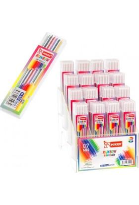 Mikro Raınbow 0,7 Renkli Kalem Ucu 24'Lü Kutu
