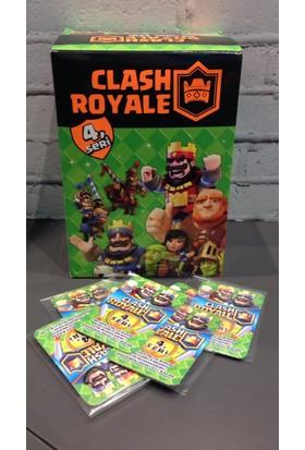 Clash Royale Clash Royal 4.Seri Oyun Kartları 200'Lü Kutu