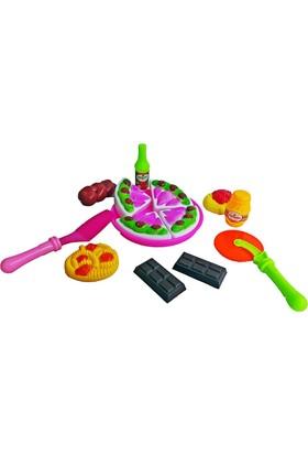 Kkd Oyuncak Bebek Mutfak Seti Kesilebilen Pasta Seti
