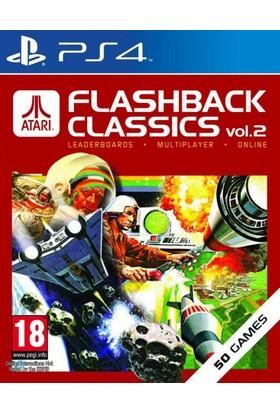 Atarı Flashback Classics Vol.2 Ps4 Oyun