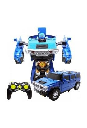 Karsan Transformers Şarjlı Ok Atan 40 Cm Hummer Araba