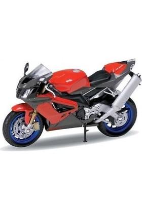 Welly Aprilla Rsv1000 1:18 Ölçek Motorsiklet