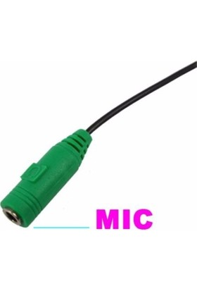 Platoon 3,5 Mm Mikrofon Ve Kulaklık Ayırıcı Splinter Kablo