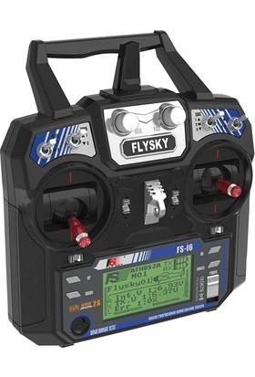 Flysky Fs-İ6 2.4Ghz 6 Kanallı Dijital Kumanda Seti Ve Fs-İa6B İ-Bus Alıcı