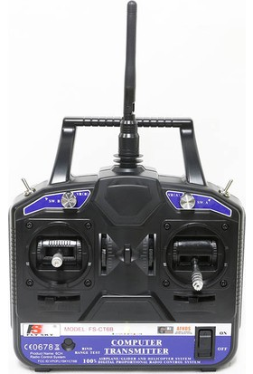 Flysky Fs-Ct6B 2.4Ghz 6 Kanal Kumanda Seti (Fs-R6B Alıcı Dahil)