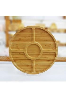 Mien Bambu Sunum Tepsisi Çerezlik