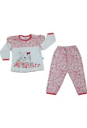 Hopidik 1314 Pijama Takımı Nar Çiçeği