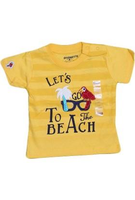 Divonette Dvntte 2719 Tshirt Sarı