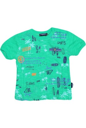 Gess 17403 Tshirt Yeşil