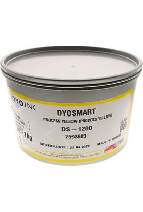 Dyo Matbaa Mürekkebi 1Kg. N:1200 Process Yellow