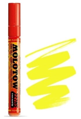 Molotow 227Hs-Co One4All 4Mm - Neon Yellow Fluorescent