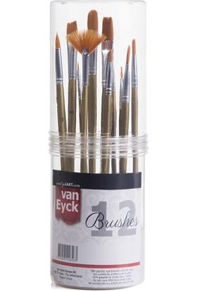 Hobi24 Van Eyck Fırça Seti - 12 Parça