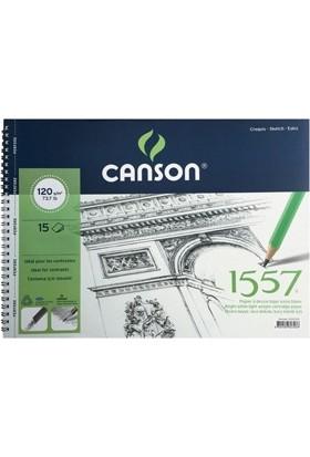 Canson 1557 Eskiz Defteri 120Gr. 35X50Cm N:120153550