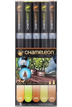 Chameleon 5-Pen Earth Tones Set