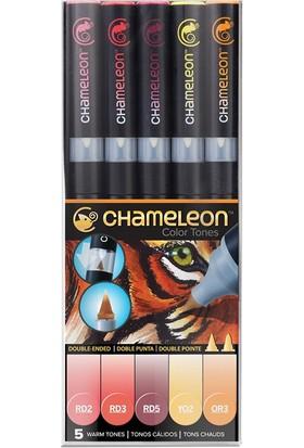 Chameleon 5-Pen Warm Tones Set