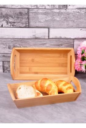 Bayev Ahşap Bambu Dikd.Küçük Ekmek Sepeti (P/Ahs-700269)