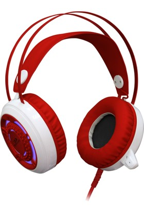 Redragon Sapphire Gaming Kulaklık Kırmızı/Beyaz