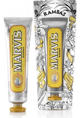 Marvis Rambas Diş Macunu 75 ml.