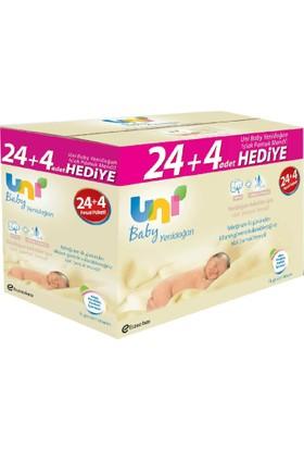 Uni Baby Yenidoğan Islak Mendil 28'li Paket (1120 Yaprak)