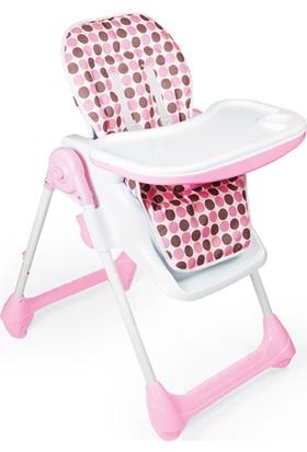Dolu Lüx Mama Sandalyesi - Pembe