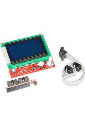 Robotzade 3D Yazıcı LCD Ekran 128x64 Reprap Ramps 1.4