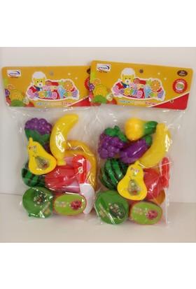 Hdm Meyve Sebze Kesme Oyuncak Kesilebilen Meyve 2 Paket