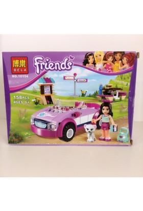 Hdm Friends Lego 158 Parça Araba Bebek Kedi SBDGSLK
