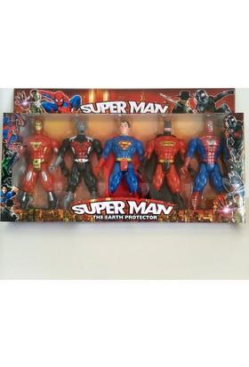 Hdm Spiderman Superman Batman Demiradam Oyuncak EVDTSMKDSZ