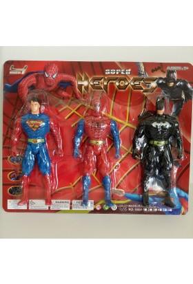 Hdm Batman Spiderman Süperman Oyuncak Örümcek Adam HNDSRETC