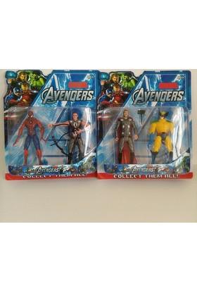 Hdm Spiderman Thor wolverine Oyuncak Yenilmezler HGBDETRZ