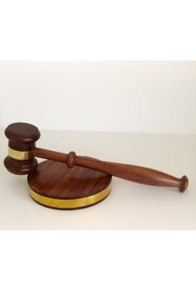 Hdm Hakim Tokmağı Adalet Heykeli Altın Kaplama