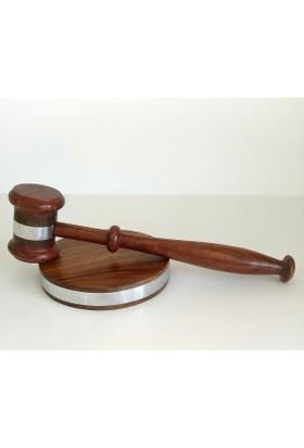 Hdm Hakim Tokmağı Adalet Heykeli Gümüş Kaplama