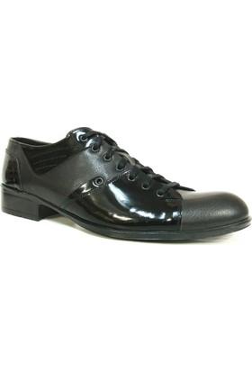 Murat Doğan Siyah Klasik Abiye Erkek Ayakkabı