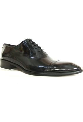 Nevzat Zöhre 763 Siyah Bağcıklı Erkek Ayakkabı