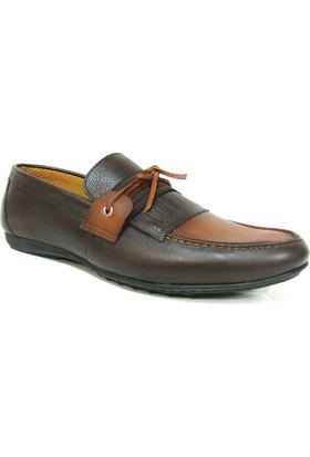 Projack 1100 Kahve Taba Bağcıksız Casual Erkek Ayakkabı