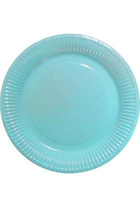 Partioutlet Mavi Karton Tabak - 18 Cm