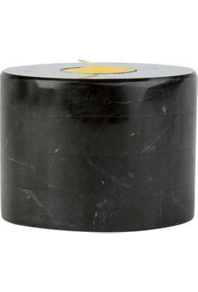 Marblection Siyah Mumluk